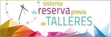 Sistema de reserva previa de Talleres 63 Congreso SEFH
